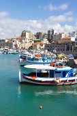 old port of Heraklion, Crete, Greece