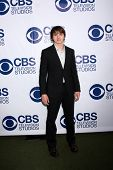 LOS ANGELES - MAY 19:  Joel Courtney at the CBS Summer Soiree at the London Hotel on May 19, 2014 in