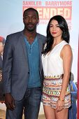 LOS ANGELES - MAY 21:  David Ajala, Michelle Lukes at the