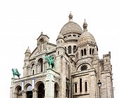 Sacre Coeur Basilica Close-up, Paris, France