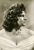 BYTOM, POLAND, CIRCA 1930: Vintage photo of woman