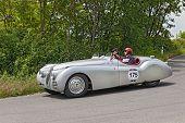 Jaguar  Xk 120 Ots (1949) In Mille Miglia 2014