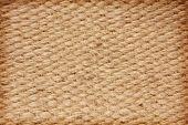 Beige Rough Camel Wool Fabric Texture Taken Closeup.background.