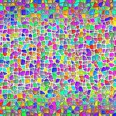 Stone Wall Mosaic Background