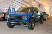 Ford F-150 Svt Raptor On Dlisplay