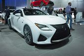 Lexus Rc-f On Display