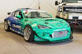 Falken Tire Subaru Brz Formula Drift Car On Display