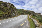 Beautiful mountain road.