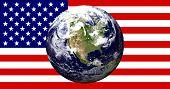 flag earth