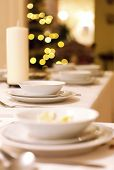 stock photo of ares  - Christmas eve supper - JPG