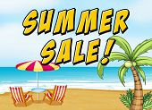 Poster of a Summer Sale