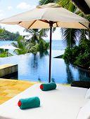 Beds Umbrellas Exotic