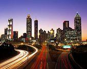 City landscape, Atlanta.