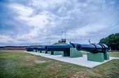 Cannons Of Fort Moultrie On Sullivan's Island In South Carolina - A Fort At This Site Guarded Charle