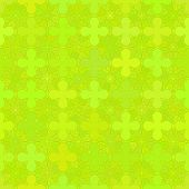 Abstract vector background Seamless green floral grid ornament