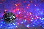 Disco Christmas Background