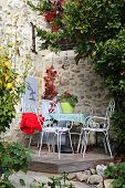 stock photo of southern  - Southern France Autumn Provence - JPG