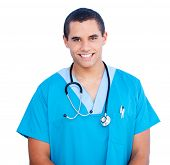 picture of male nurses  - Portrait of self - JPG