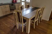 Dining-table in living room