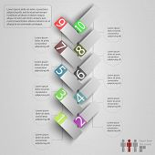 picture of step-up  - Modern business steb origami style options banner - JPG