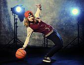 pic of rap-girl  - Teen girl hip - JPG