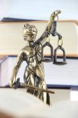 stock photo of justice  - Symbol of law and justice - JPG