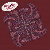 foto of marsala  - Marsala inspired trendy patternfashionable sophisticated shade - JPG