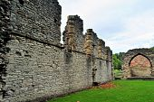 Priory Walls & Arch