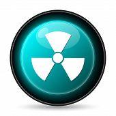 image of nuke  - Radiation icon - JPG