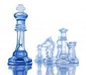 image of king  - Chess figures - JPG