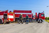 stock photo of fire truck  - Fire trucks - JPG