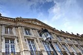 stock photo of bordeaux  - Facade of  - JPG