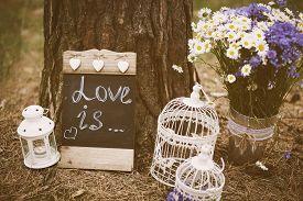 image of wedding  - Love is  - JPG