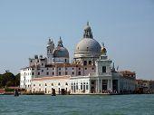 Punta della Dogana y saludo en Venecia.