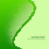 Fondo verde de tono medio.