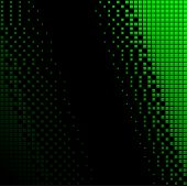 Fondo de medios tonos verdes y negras.