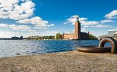 Stockholm Quayside And City Hall