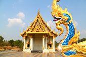 Templo budista no norte da Tailândia