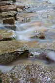 Mountain Stream Stepping Stones