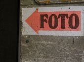 Photo Sign
