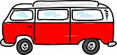 image of campervan  - motorhome campervan vehicle  - JPG