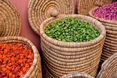Moroccan Spice Store Baskets