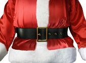 Santa Claus belt and belly