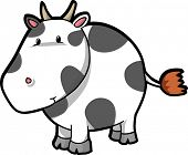 Vector Illustration of Cow