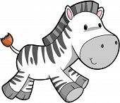 Zebra Vector Illustratie