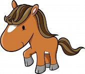 Vector Illustration of Horse