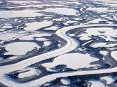 Mackenzie Delta Aerial Ice Road