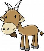 Goat Vector Illustration