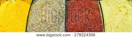 Oriental Spices In Grand Bazaar
