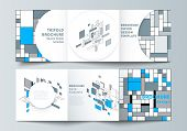 The Minimal Vector Editable Layout Of Square Format Covers Design Templates For Trifold Brochure, Fl poster